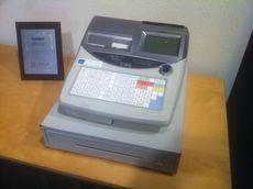 Tweedehands scankassa Casio TE-2400