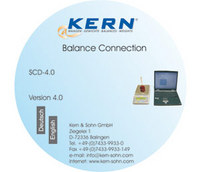 Weegschaal software Kern SCD-4.0 Balance Connection